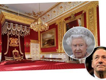 Jornal diz que Kevin Spacey já se sentou no trono da rainha Elizabeth II… Vem saber!
