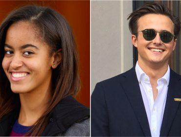 Malia Obama é flagrada aos beijos com estudante britânico que conheceu em Harvard