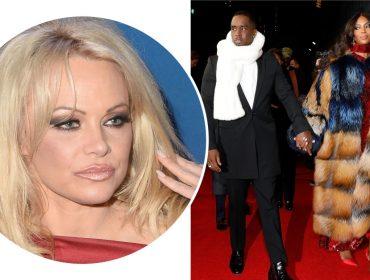 Se liga! Pamela Anderson pede a Naomi Campbell que pare de usar casacos de pele