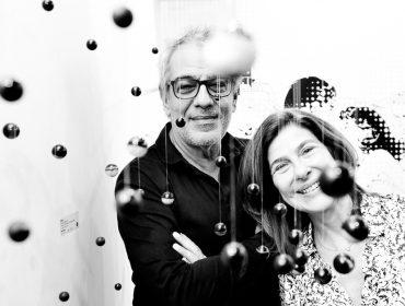 """A abertura da feira de arte contemporânea """"Parte"""" no salão Marc Chagall"""
