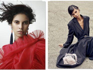 Conheça Roza Figueira, que deixou a portaria de empresa de segurança para virar modelo