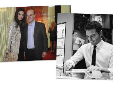 Mariana e Zeco Auriemo vão receber o diretor criativo da René Caovilla para jantar em SP