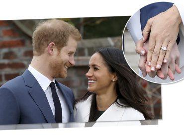 Com anel e tudo: Harry e Meghan Markle fazem primeira aparição após anúncio de noivado