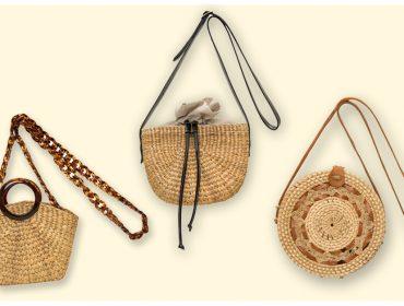 Desejo do Dia: mood pé na areia com as novas bolsas de palha da Sneak Peek
