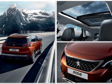 Novo SUV Peugeot 3008 capricha no design interior e exterior. Saiba mais!