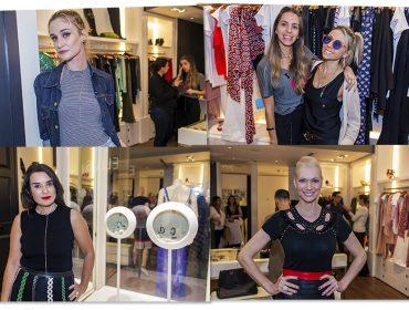 Alessandra Cozzi e Stella Jacintho inauguraram nova loja Thelure na Oscar Freire