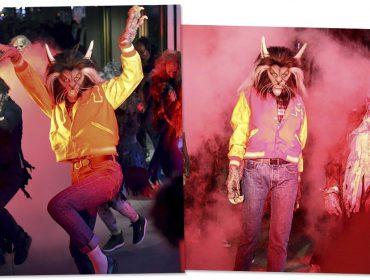 Heidi Klum homenageia Michael Jackson e surge assustadora como lobisomem em seu Halloween