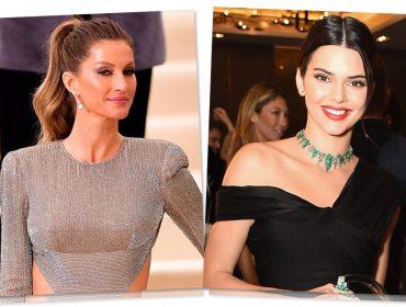 Kendall Jenner desbanca Gisele Bündchen e é atual modelo mais bem paga do mundo…