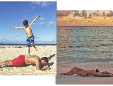 Sem filtro: Gisele Bündchen, Tom Brady e filhos elegeram as Bahamas para férias