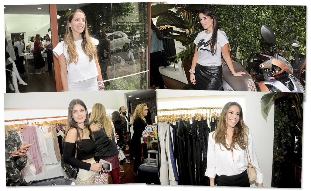 81f3711a1 Turma de glamurettes marcou presença na inauguraram nova loja Thelure na  Oscar Freire || Créditos: Divulgação