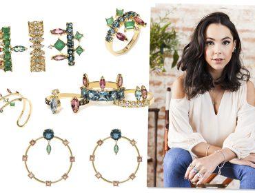 Carolina Neves cria nova coleção de joias para brilhar em Nova York