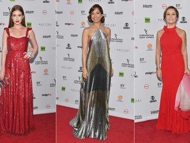 Brasileiros fazem bonito em tapete vermelho da 45ª edição do Emmy Internacional