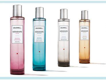 Linha Kerashape, da Goldwell, ganha novas essências de aromas para o cabelo