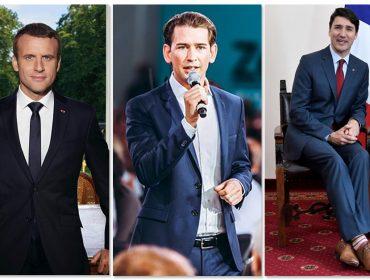 Glamurama analisou o que está por trás do estilo e postura dos mais jovens – e promissores – líderes políticos do mundo