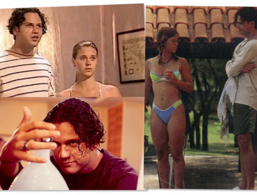 """Selton + Dieckmann, 23 anos depois, um sobre o outro: """"Intuição purinha, vivaz, linda"""" e """"monstro hipnotizante"""""""
