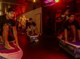 Peixão fora d'água: conheça a aula de surf indoor praticada por Enzo Celulari!