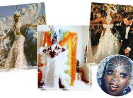 Pinah, eterna musa da Beija Flor,relembra o dia em que dançou com o príncipe Charles e critica o Carnaval de hoje em dia