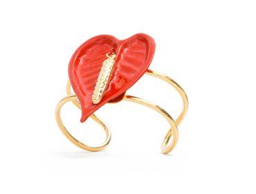 Desejo do Dia: pulseira Antúrio Vermelho da Cine 732, destaque do Fashion We
