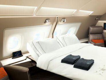 Voar com direito a cama de casal e todo o tipo de mimos… É a pedida para as próximas férias