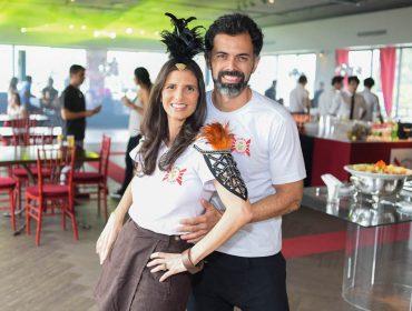 O Gueri-Gueri apresentou nova bandeira com festa no Jockey Club de São Paulo, nesse domingo