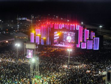 ACM Neto comemora sucesso do primeiro dia  do Festival Virada Salvador