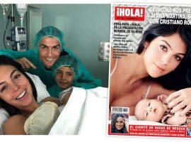Filha de Cristiano Ronaldo nasceu ao som de Alicia Keys, revela a namorada do craque