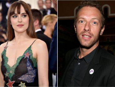Novo casal na área? Dakota Johnson e Chris Martin foram flagrados em Tel Aviv