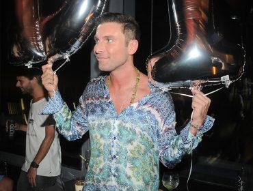Diego Rodrigues comemorou seu aniversário no Tetto Rooftop Lounge