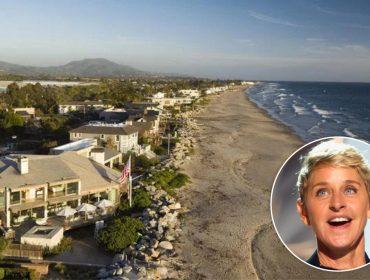 Ellen DeGeneres e outras celebs podem perder suas casas por causa de incêndios na Califórnia