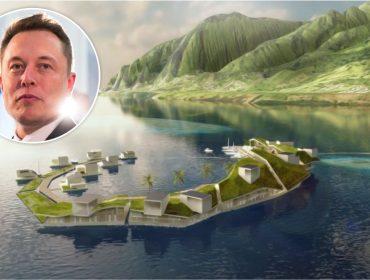 Além da conquista de Marte, Elon Musk também sonha com a colonização dos oceanos
