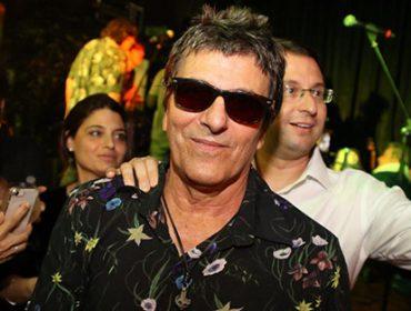 Evandro Mesquita esquentou a noite dessa quarta no Café Society em São Paulo