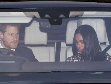 Meghan Markle participa do tradicional almoço de Natal com a rainha no Palácio de Buckingham