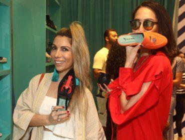 A Blue Bird Shoes inaugurou nessa quinta-feira nova loja em solo carioca