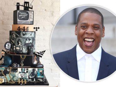 Jay Z festejou aniversário com bolo temático – caríssimo – enviado por seus sócios