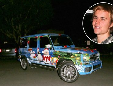 O espírito de Natal tomou conta de Justin Bieber. Motivo? Selena Gomes… Ah o amor!