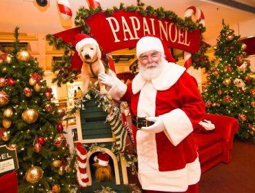Papai Noel já chegou ao Iguatemi São Paulo para receber as cartas dos glamuzinhos