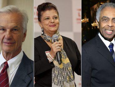 Lemann, Luiza Helena Trajano e Gilberto Gil vão atuar juntos em novo projeto do Facebook