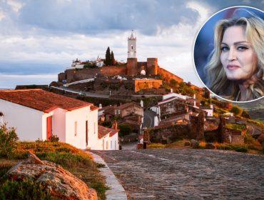 Apaixonada por Portugal, Madonna vai às compras e atrás da superlua em Monsaraz