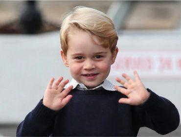Na peça de fim de ano de sua escola, o príncipe George interpretou… uma ovelha!