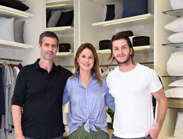 Romeu e Adriana Trussardi foram os anfitriões da reinauguração da flagship da Trousseau do Shopping Leblon