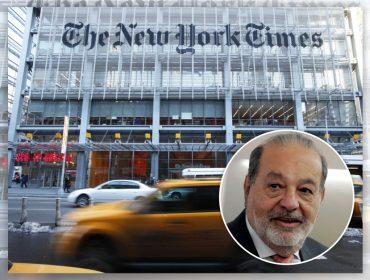 """Um dos homens mais ricos do mundo, Carlos Slim reduz à metade fatia que mantém do """"NY Times"""""""