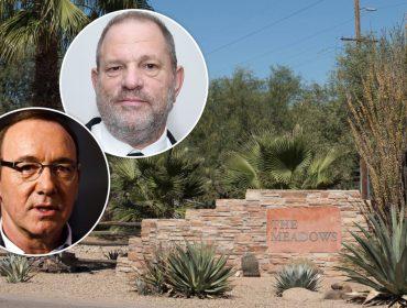 Harvey Weinstein e Kevin Spacey dividem o mesmo quarto em clínica e trocam confidências