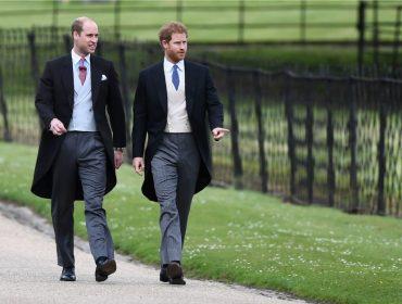 Harry convida o irmão, o príncipe William, para ser seu padrinho de casamento…