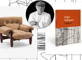 Sergio Rodrigues ganha livro que revê todo seu trabalho. Aos detalhes!