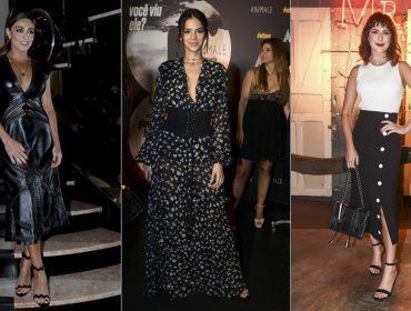 Confira o que usaram Juliana Paes e outras musas no bem-vestidas da semana