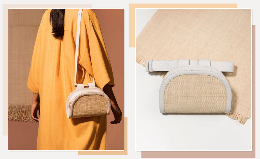 5481a4a54 Detalhe da bolsa criada por Fernanda Yamin para a Wai Wai! || Créditos:  Divulgação