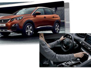 Fora do comum: Novo SUV Peugeot 3008 é recheado de tecnologia