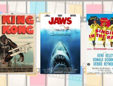 Anota aí. 30 filmes clássicos para você assistir durante as férias… Play!