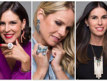 Raquel Correa escala time de glamurettes para campanha de sua nova coleção
