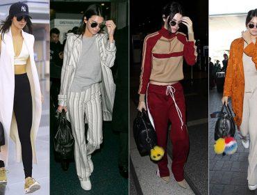 Aerolook: 15 vezes em que Kendall Jenner arrasou na hora de viajar. Apertem os cintos!